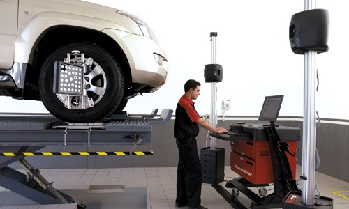 Phil Gilbert Toyota Services - Wheel Alignment